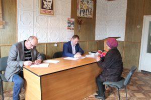 Виїзний прийом громадян в селі Лазещина